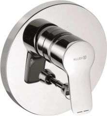 KLUDI PURE&EASY concealed single lever bath and shower mixer, trim set