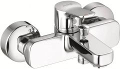 KLUDI PURE&EASY single lever bath and shower mixer DN 15