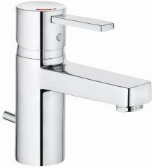 KLUDI ZENTA single lever basin mixer DN 15, ECO PLUS with pop up waste