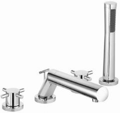 KLUDI BOZZ 4-hole bath and shower mixer DN 15