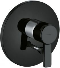 KLUDI ZENTA concealed bath/shower mixer, trim set with functional unit