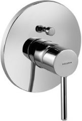 KLUDI BOZZ concealed bath/shower mixer, trim set with functional unit, protected against back flow
