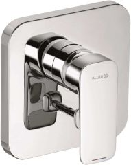 KLUDI PURE&STYLE concealed single lever bath and shower mixer, trim set