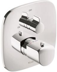 KLUDI AMEO concealed THM shower mixer, trim set with functional unit