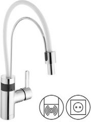 KLUDI E-GO electronic and single-lever controlled sink mixer DN 10