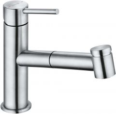 KLUDI STEEL kitchen faucet DN 15