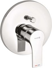 KLUDI ZENTA SL concealed single lever bath and shower mixer, trim set