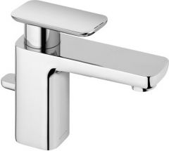 KLUDI E2 single lever basin mixer DN 15, with pop up waste
