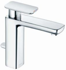 KLUDI E2 single lever basin mixer with pop up waste G 1 1/4 DN 15