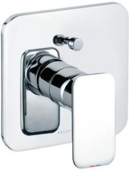 KLUDI E2 concealed bath/shower mixer, trim set with functional unit