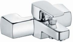 KLUDI Q-BEO single lever bath and shower mixer DN 15