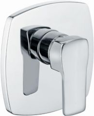 KLUDI Q-BEO concealed shower mixer, trim set