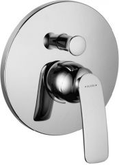 KLUDI BALANCE concealed bath/shower mixer, trim set with functional unit