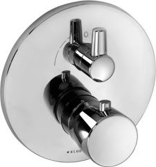 KLUDI BALANCE concealed thermostatic shower mixer, trim set with functional unit