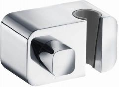 KLUDI A-QA wall concealed elbow shut-off valve with shower hook DN 15