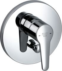 POLARIS concealed single lever bath and shower mixer, trim set