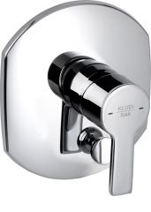 PASSION concealed single lever bath and shower mixer, trim set