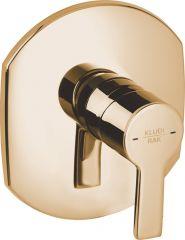 PASSION concealed single lever shower mixer, trim set