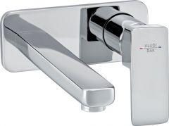 PROFILE STAR concealed 2-hole single lever basin mixer trim set