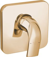 SWING concealed single lever shower mixer, trim set