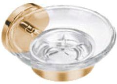 CALIBER soap dish, glass