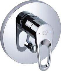 POLO concealed single lever bath and shower mixer, trim set