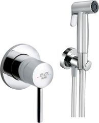 ABS shattaf with concealed single lever mixer with pre-installation kit