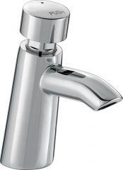 Self-closing tap - push type