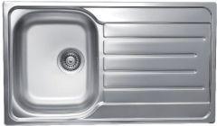 Inset Sink Single Bowl Single Drainer
