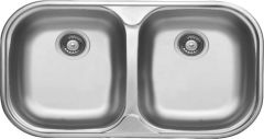 Undermount Double Sink Bowl